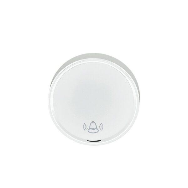 Solight bezdrátové tlačítko pro 1L58, 1L58B, dosah 150m, bílé, learning code