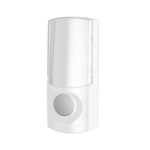 Solight bezdrátové tlačítko pro 1L60 a 1L61, 200m, bílé, learning code, kryt na jmenovku