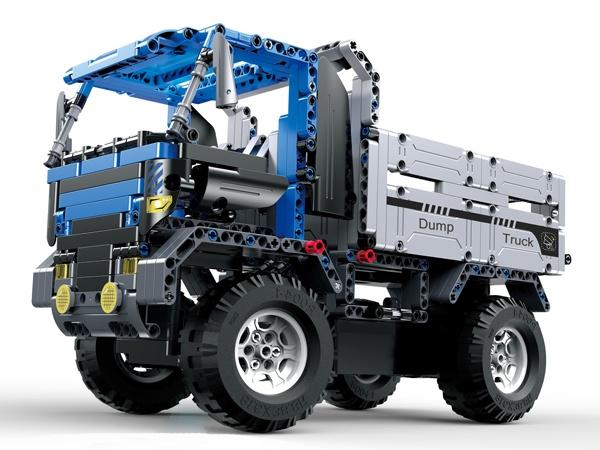 Stavebnice Dump Truck – auto na dálkové ovládání
