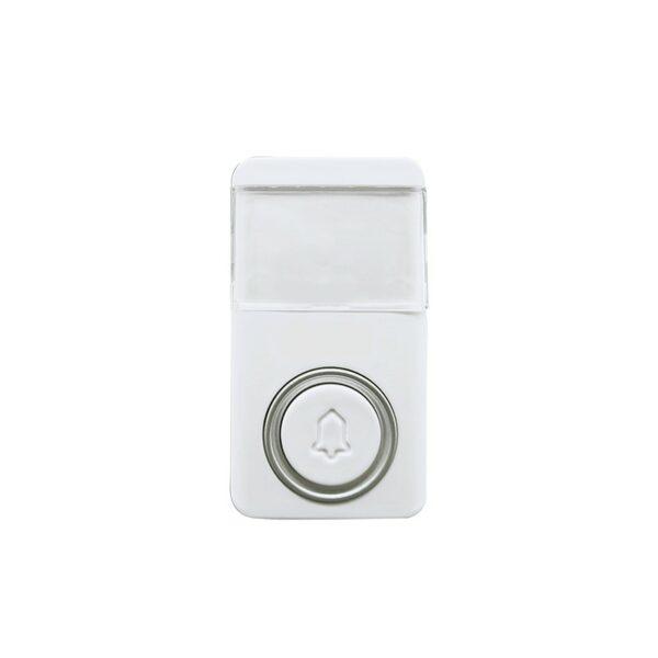 Solight bezdrátové bezbateriové tlačítko pro 1L64, 120m, bílé, learning code